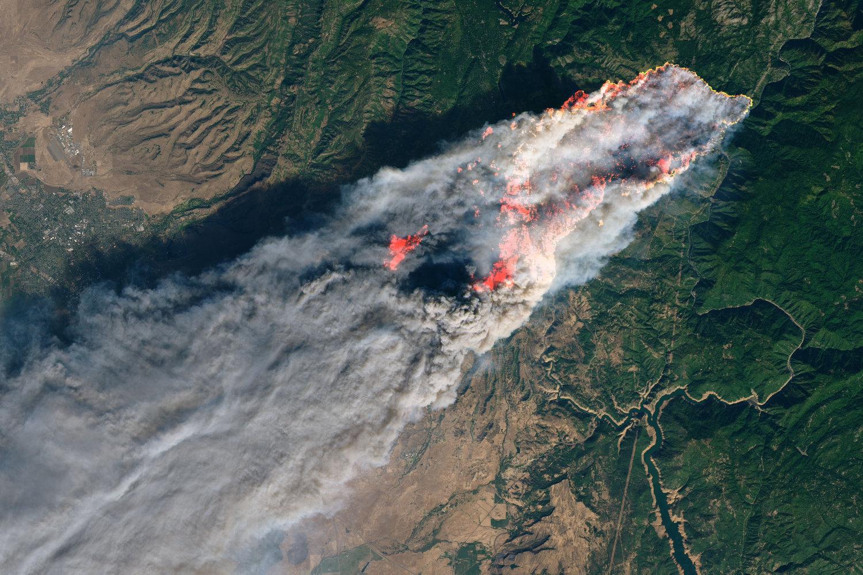 ¿Cómo se formaron los peores incendios en la historia de California?