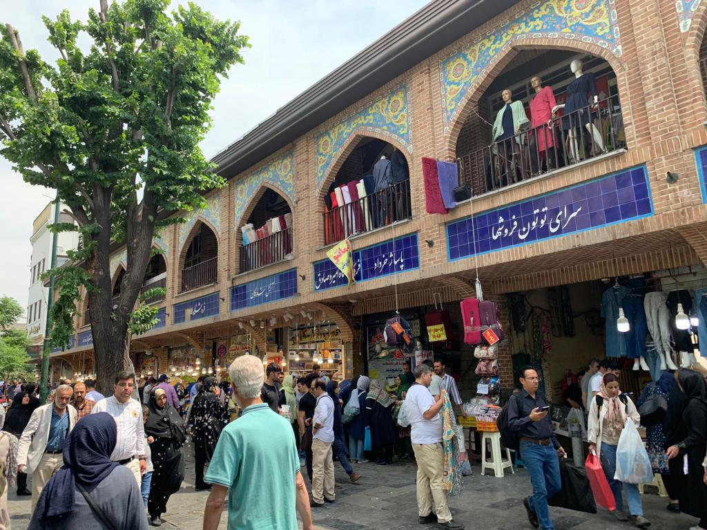 Gran Bazar de Teherán, Irán. Fotografía: Jairo Villegas S.